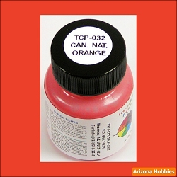 Canadian National ORANGE 1 oz. Tru-Color Paint (air brush ready)