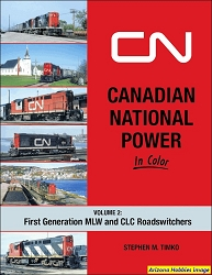 Canadian National Power In Color Vol. 2: First Generation Roadswitchers