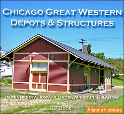 Chicago Great Western Depots and Structures CD Book