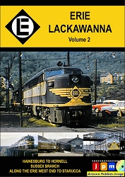 Erie Lackawanna Vol. 2: The E, the L, and the E-L DVD