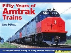 Fifty Years of Amtrak Trains: A Comprehensive Survey of Every Amtrak Route Since 1971