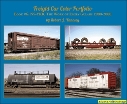 Freight Car Color Portfolio Book No. 6: NS-YKR, The Work of Emery Gulash