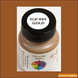 GOLD 1 oz. Tru-Color Paint (air brush ready)