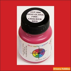 High-Gloss FIRECRACKER RED 1 oz.