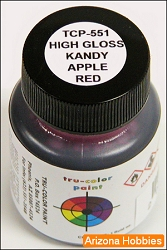 High-Gloss KANDY APPLE RED (TRANSPARENT RED) 2 oz.