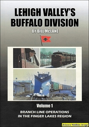 Lehigh Valley's Buffalo Division Vol. 1: Branch Line Operations DVD