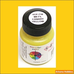 Metallic CANARY YELLOW 1 oz.
