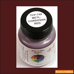 Metallic CORDOVAN RED 1 oz.