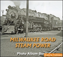 Milwaukee Road Steam Power Photo CD Book