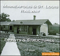 Minneapolis & St. Louis Depots and Structures CD Book