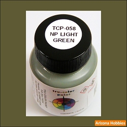 Northern Pacific LIGHT GREEN 1 oz. Tru-Color Paint (air brush ready)