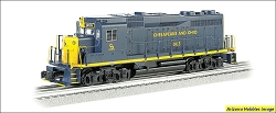 O-27 Scale Chesapeake & Ohio GP30 #3003 Williams FREE USA Shipping (see description)