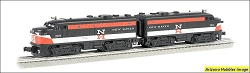 O-27 Scale New Haven ALCO FA-2 A-A set #209 Williams FREE USA Shipping (see description)
