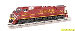 O-27 Scale Norfolk Southern Lehigh Valley #8104 GE DASH9 Locomotive Williams FREE USA Shipping (see description)