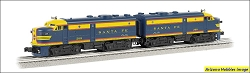 O-27 Scale SANTA FE ALCO FA-2 A-A set #208 Williams FREE USA Shipping (see description)