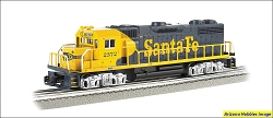 O-27 Scale Santa Fe GP-38 #2372 Williams FREE USA Shipping (see description)