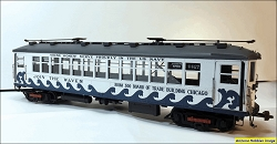 John Nicholson's O-Scale Chicago Rapid Transit L Car circa 1942