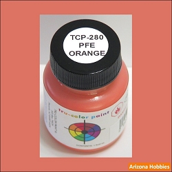 Pacific Fruit Express ORANGE 1 oz. Tru-Color Paint (air brush ready)