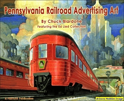 Pennsylvania Railroad Advertising Art 1859-1968