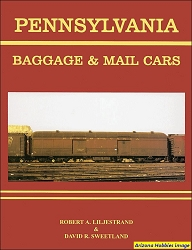 Pennsylvania Railroad Baggage and Mail Cars