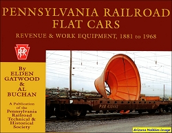 Pennsylvania Railroad Flat Cars: Revenue and Work Equipment, 1881-1968