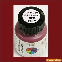 Poly BRILLIANT RED 1 oz.