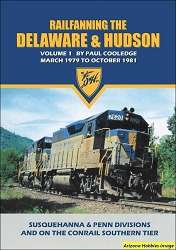 Railfanning the Delaware & Hudson Vol. 1: March 1979 to October 1981 DVD