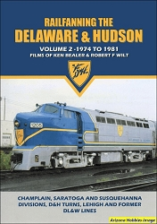 Railfanning the Delaware & Hudson Vol. 2: 1974 to 1981 DVD