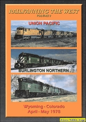 Railfanning the West Vol. 2: Wyoming-Colorado April-May 1978 DVD