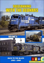 Railfanning with the Bednars Vol. 11: Back to the Blues 1983-1986 DVD