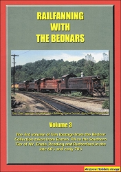 Railfanning with the Bednars Vol. 3: 1971-1973 DVD