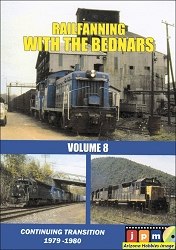 Railfanning with the Bednars Vol. 8: Conrail Transition 1979-1980 DVD