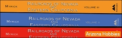 Railroads of Nevada and Eastern California, Three Vol. Set