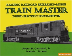 Reading Railroad Fairbanks-Morse Trainmaster Diesel Electric Locomotives