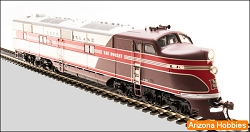 Rock Island E6A Broadway Limited Paragon 2 w/Sound, DC and DCC HO scale