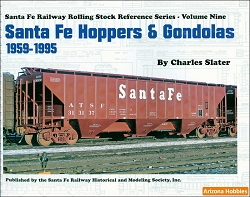 Santa Fe Railway Hoppers and Gondolas: 1959-1995