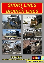 Short Lines and Branch Lines Vol. 3: Lehigh Valley to Wyoming Valley DVD