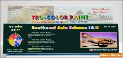 Southeast Asia (SEA) Camouflage Schemes I and II Paint Set of 6 bottles