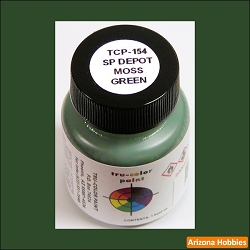 Southern Pacific DEPOT MOSS GREEN 1 oz.
