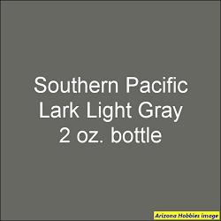 Southern Pacific LARK LIGHT GRAY 2 oz.