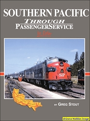 Southern Pacific Through Passenger Service In Color