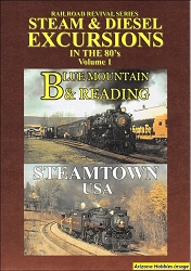 Steam and Diesel Excursions in the 1980s Vol. 1 DVD