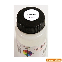 THINNER 2 oz. Tru-Color Paint (air brush ready)