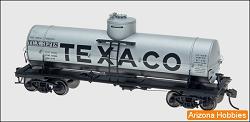 TEXACO HO Scale 10000 Gallon Welded Tank Car