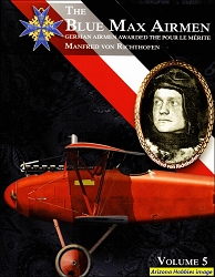 The Blue Max Airmen Vol. 5: Manfred-von-Richthofen