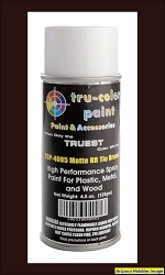MATTE RAILROAD TIE BROWN Spray Can 4.5 oz.