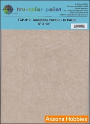 Masking Paper 8 x 10 in.: 10 Sheet Pack