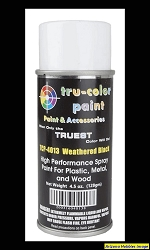 WEATHERED BLACK Spray Can 4.5 oz.