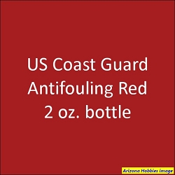 U.S. Coast Guard Anti-Fouling RED 2015-on FS-11105 2 oz.