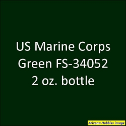 U.S. Marine Corps GREEN (Vehicles) FS-34052 2 oz.